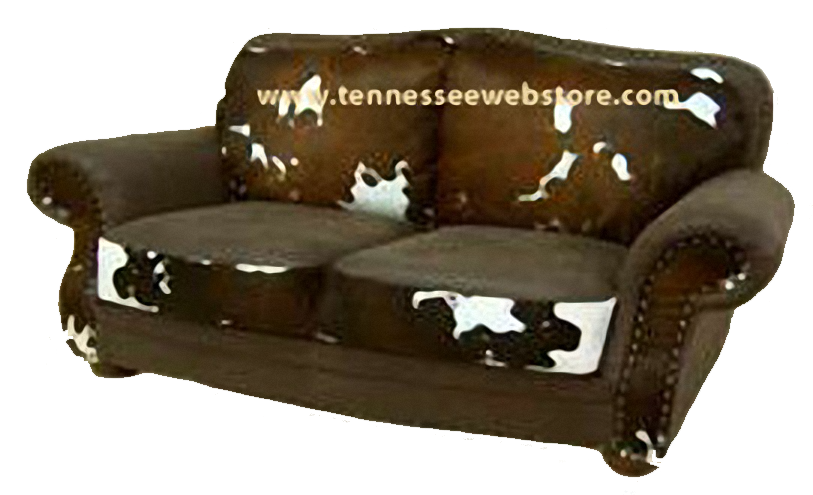 Cowhide Sofas, Couches, Cowhide Sleepers FREE SHIPPING