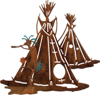 3D Wall art, decor and wall hangings of kokopelli village