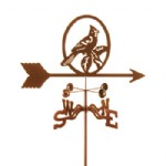 Weather vane of Birds