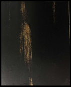 DISTRESSED BLACK PAINT SAMPLE
