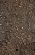 COWBOYCOPPERBROWN EMBOSSED LEATHER SAMPLE