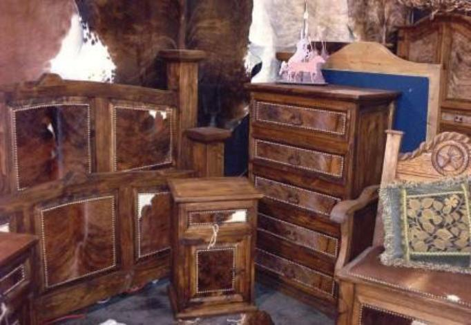 Charmant Cowhide Bedroom Furniture