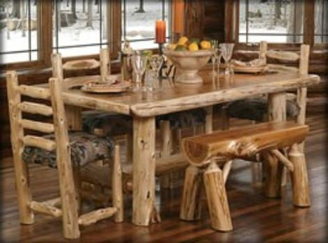 Rustic Log Cabin Furniture.