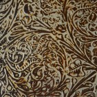 FANCY CHEYENNE GOLD EMBOSSED LEATHER SAMPLE