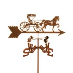 HORSE AND BUGGY WEATHER VANES