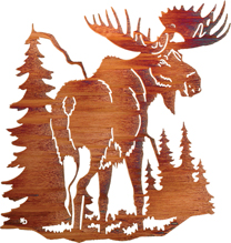 Wall Art Hangings of Moose