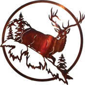 Metal Wall art, decor and wall hangings of ELK