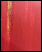 DISTRESSED RED PAINT SAMPLE