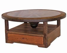 Western Wagon Wheel Coffee tables - www.tennesseewebstore.com