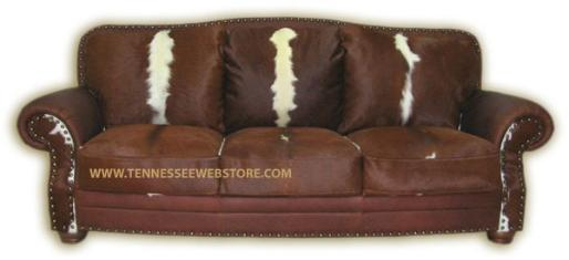 Cowhide Sofas, Cowhide Couches, Cowhide Sleeper Sofas