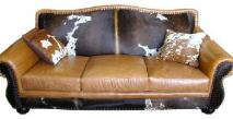 SEE OUR COWHIDE FURNITURE