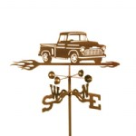 CHEVY TRUCK WEATHER VANE