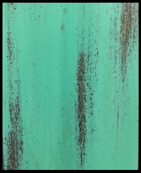 DISTRESSED TURQUOISE PAINT SAMPLE