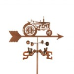 Farm and Tractor, trucks weathervane