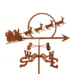 Holiday weathervane
