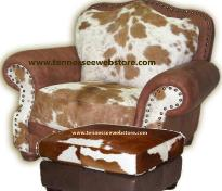 Cowhide Chairs Love Seats OttomansBETTER THAN FREE SHIPPING