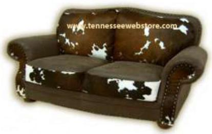 Cowhide Love Seats