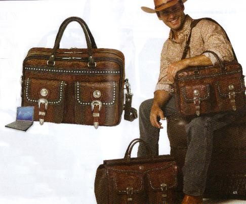 MENS LUGGAGE, LEATHER LUGGAGE